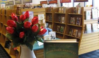 El Dia de las rosas y los libros!