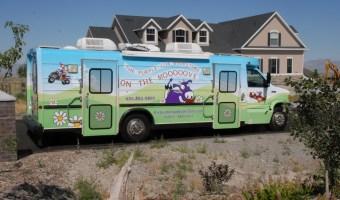 Purple Cow On The MOOOO-VE!