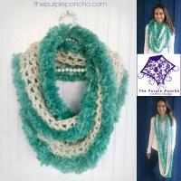 Seamist Infinity Scarf - Crochet Pattern