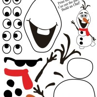 Free Olaf Printable! Do You Want To Build A Snowman?{Create Christmas: Day 1}