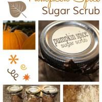 Homemade Christmas Gift: Pumpkin Pie Spice Sugar Scrub