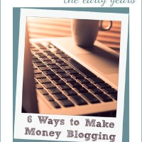 6 Honest Ways to Make Money Blogging