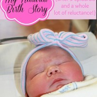 My Natural Birth Story {After Three Epidurals}, Part 2