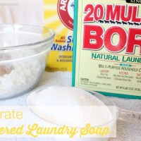 No Grate Powdered Homemade Laundry Soap