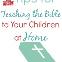 When You Don't Know How to Start Teaching the Bible to Your Kids {31 Days of Hope for Moms}
