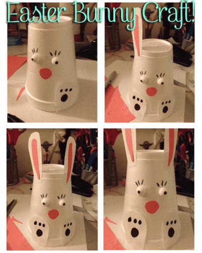 DIY Easter Bunny Craft for kids