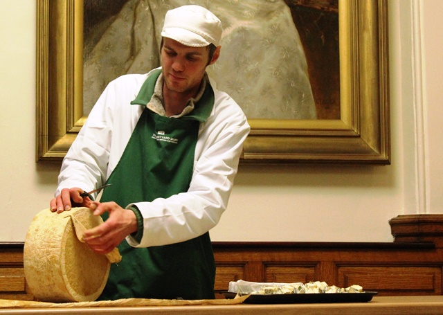 Andy Swinscoe cheese demo Kendal Food Festival - photo zoedawes