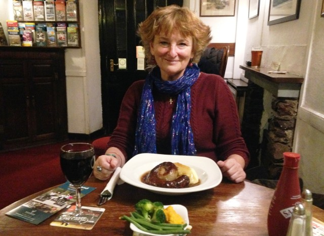 Dinner at the Britannia Inn Elterwater Lake District - Zoe Dawes