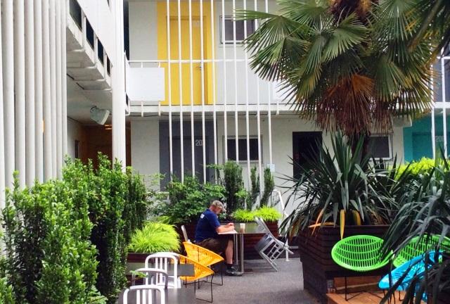Burrard Hotel garden Vancouver - photo zoedawes