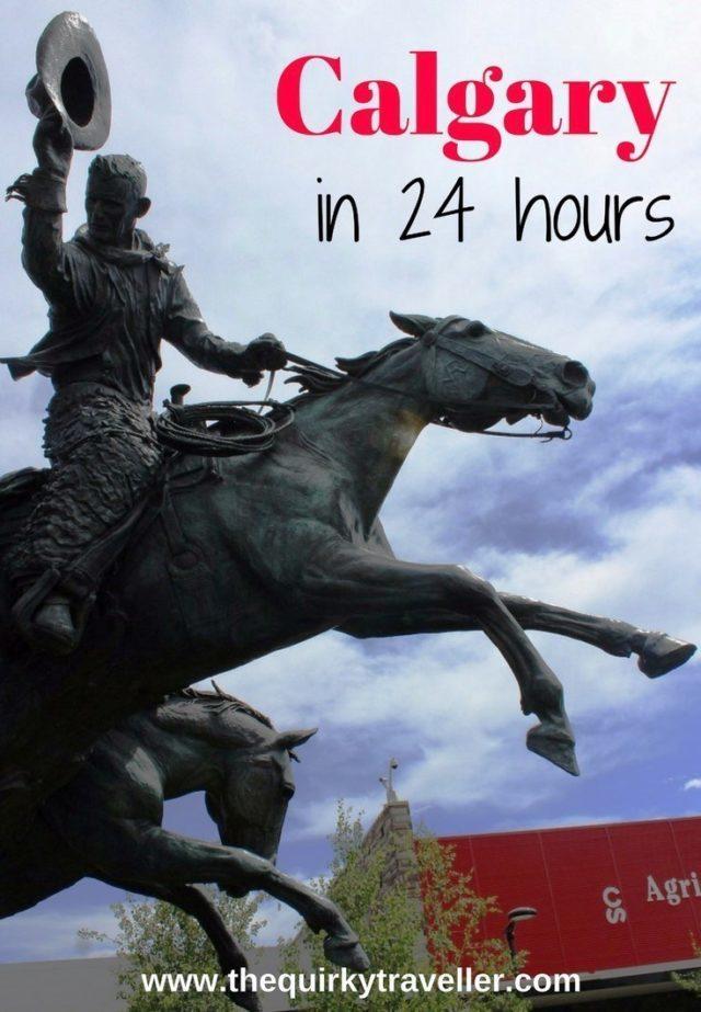 Calgary in 24 hours - zoe dawes