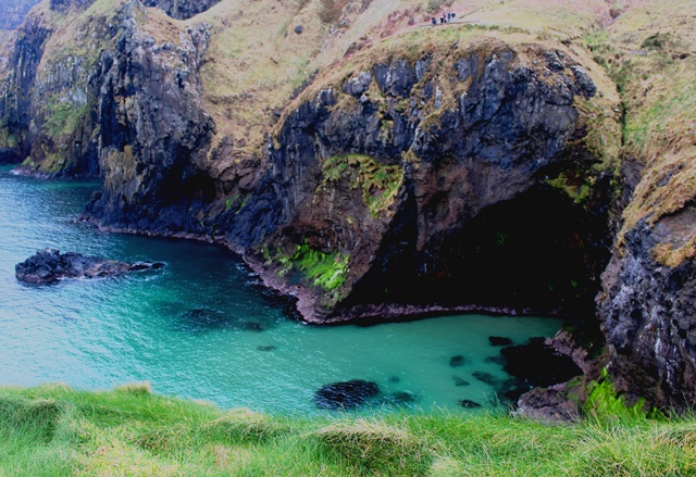 The Causeway Coast from Carrick-a-Rede Ireland - zoedawes