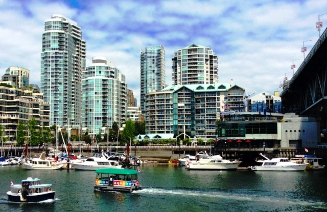 False Creek from Granville island Vancouver - photo zoedawes