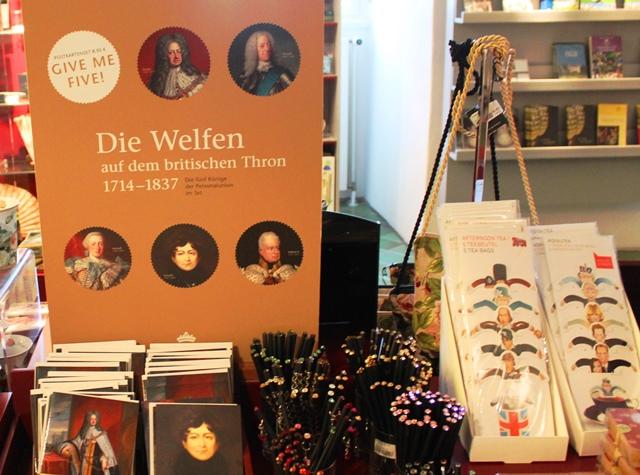 Five Hannoverian British Monarchs - Celle Castle shop Germany