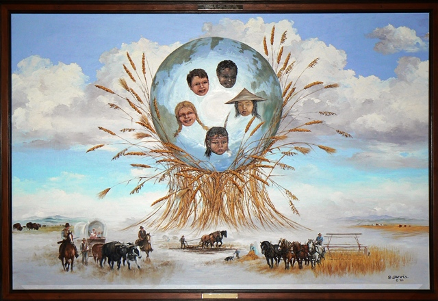 Grain Academy Painting - Calgary