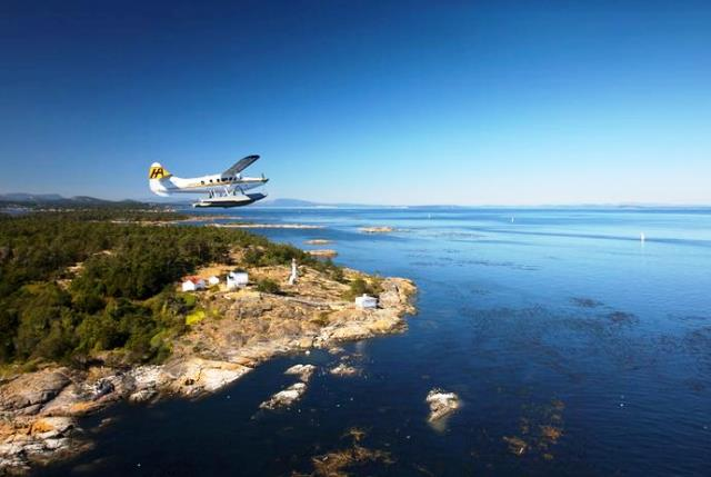 Vancouver Island - image Harbour Air Seaplanes