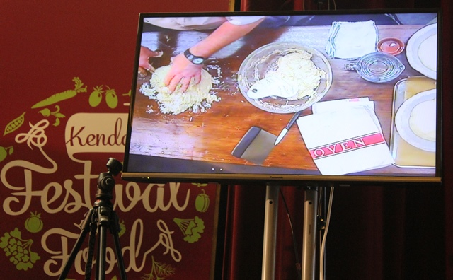 Lovingly Artisan sourdough baking demo at Kendal Food festival