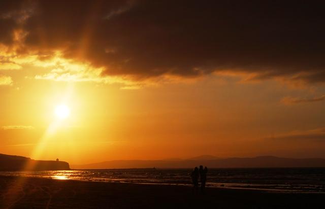 Portstewart Strand at sunset Northern Ireland - zoedawes