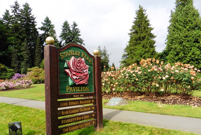 Stanley Park Rose Garden Vancouver - photo zoedawes