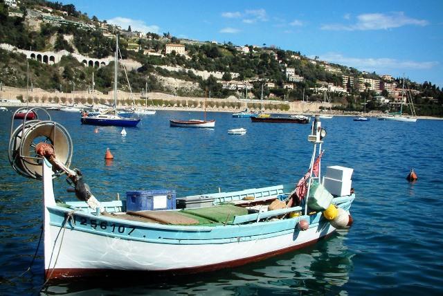 villefranche-sur-mer cote d'azur france
