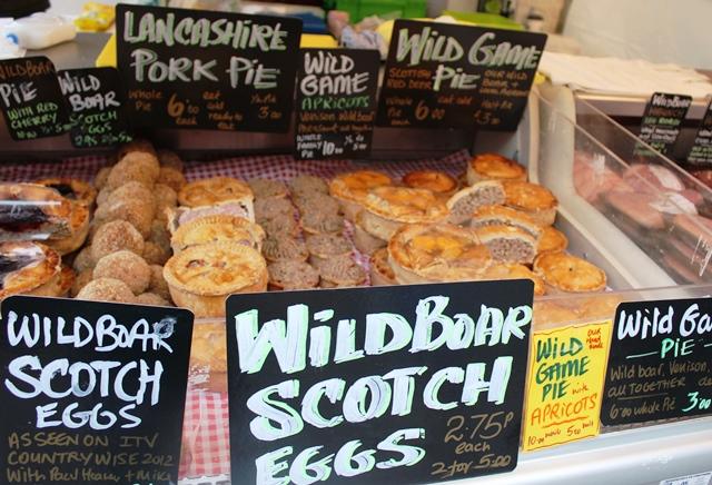 Wild boar stall - Kendal Food Festival