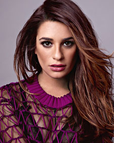 Lea Michele  Photos: Peggy Sirota