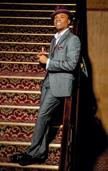 Billy Porter, has a new album, Billy's Back on Broadway,/i>.  All Photos: John Ganun