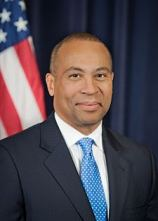Massachusetts Governor Deval L. Patrick is named Parade Grand Marshal by Boston Pride 2014.  Photo: Official from Governor's website