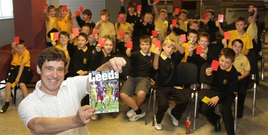 Local schools were given a visit to the racecourse with the Football In The Community where they met author Tom Palmer were given a training session at Glyndwr sports centre and a stadium visit