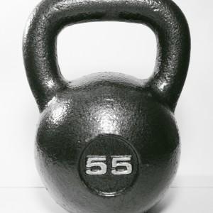 kettlebell, iron, weight, 55 lbs., poods