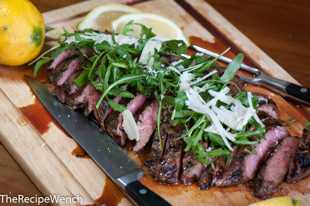 Grilled Marinated Flank Steak - The Recipe Wench