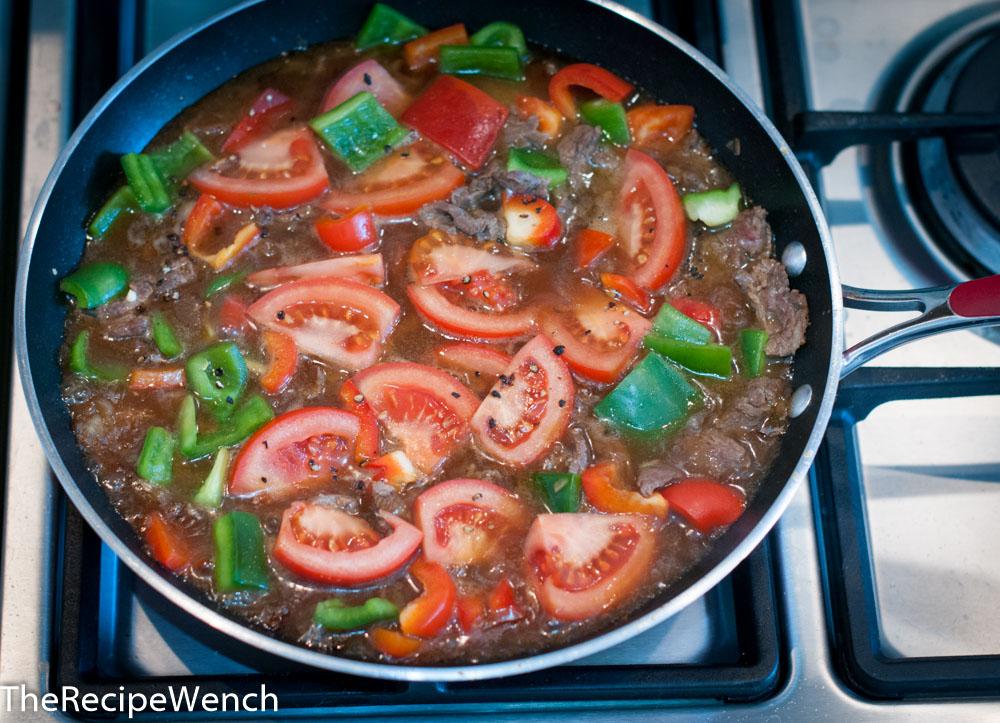 Beef Tomato Skillet