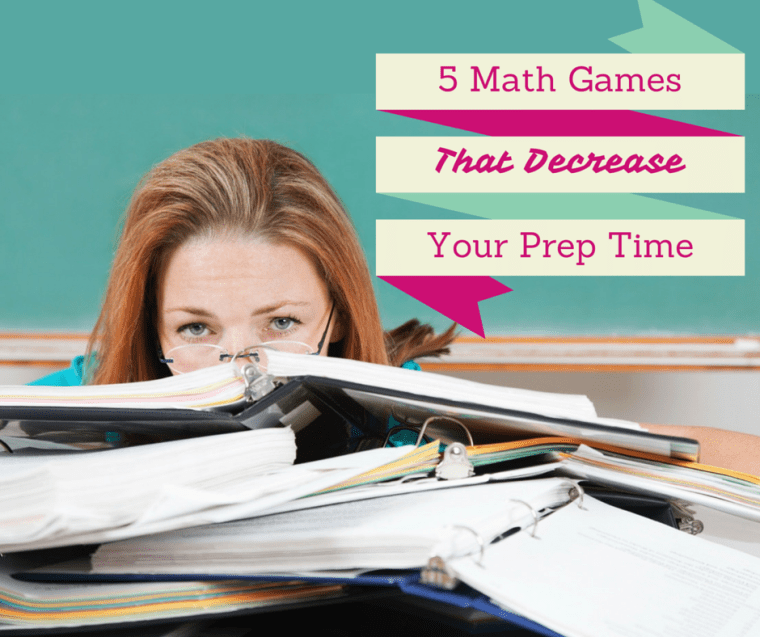 5 evergreen math games