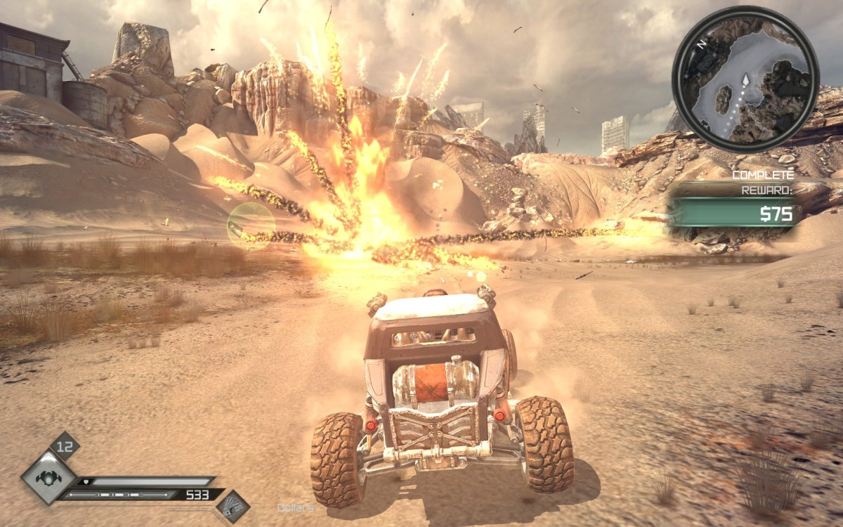 Rage Screenshot Wallpaper vehicle car combat