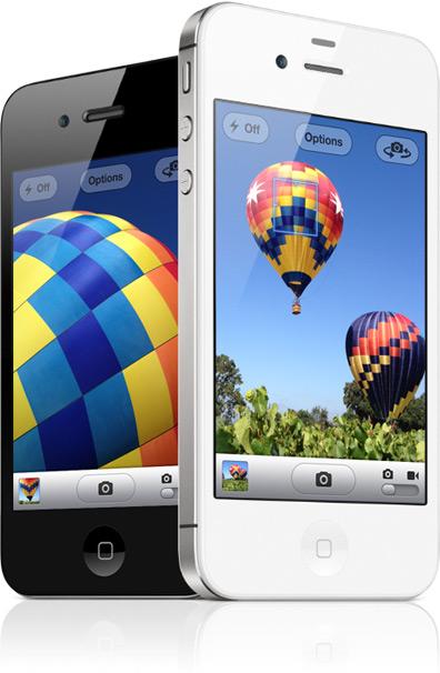 iPhone 4S White Black