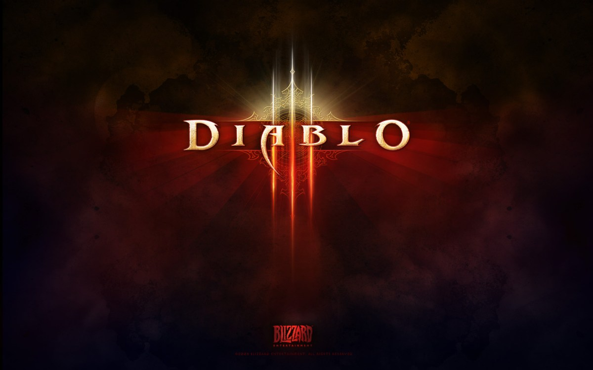 Diablo 3 Screenshot Wallpaper Title Screen