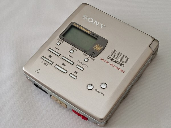 Sony MZR55 MiniDisc Player