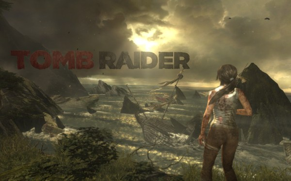 Tomb Raider 2013 Screenshot Wallpaper Title Screen