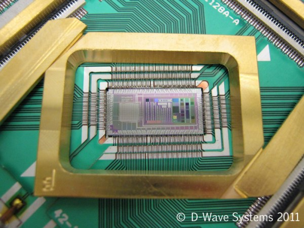 D-Wave Quantum Computing Chip