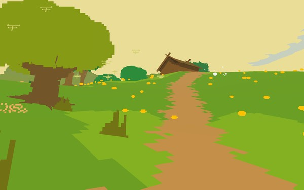 Proteus Screenshot Wallpaper House on the Prairie
