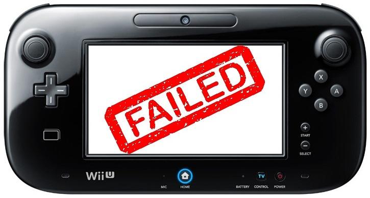 Wii U Failed