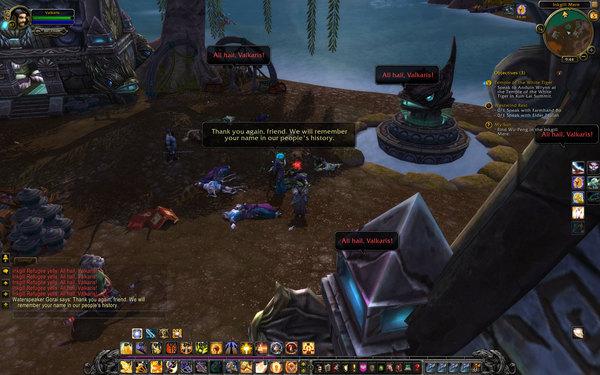 World of Warcraft Mists of Pandaria Screenshot Wallpaper All Hail Valkaris