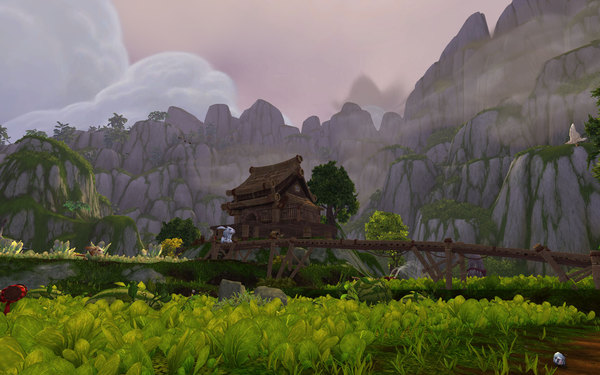 World of Warcraft Mists of Pandaria Screenshot Wallpaper Beautiful Scenery
