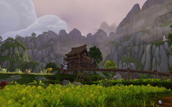 World of Warcraft Mists of Pandaria Screenshot Wallpaper Beautiful Scenery