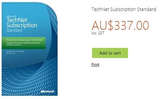 TechNet Subscription