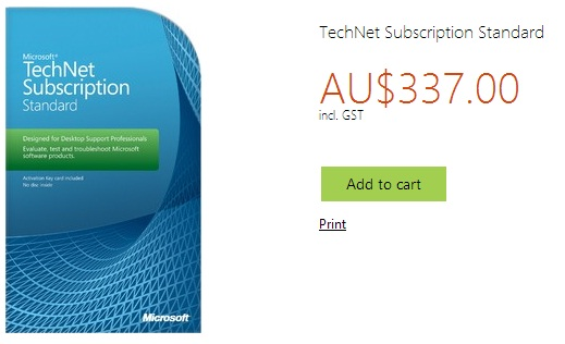 TechNet Subscription