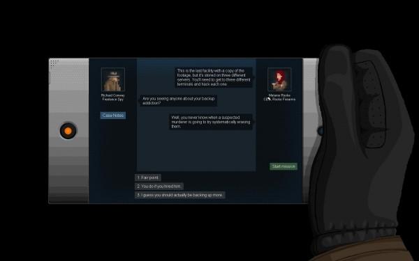 Gunpoint Screenshot Wallpaper NPC Interactions