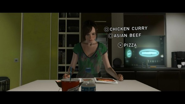 Beyond Two Souls  Review Screenshot Wallpaper Choice Menus