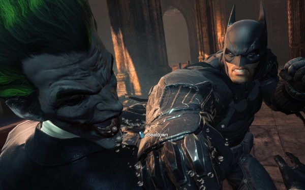 Batman Arkham Origins Review Screenshot Wallpaper Joker Beatdown