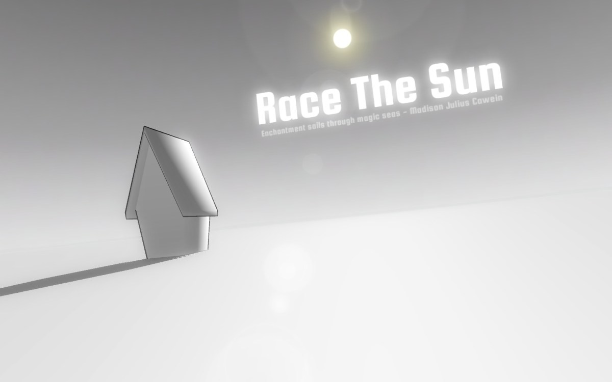 Race The Sun Review Screenshot Wallpaper Title Screen