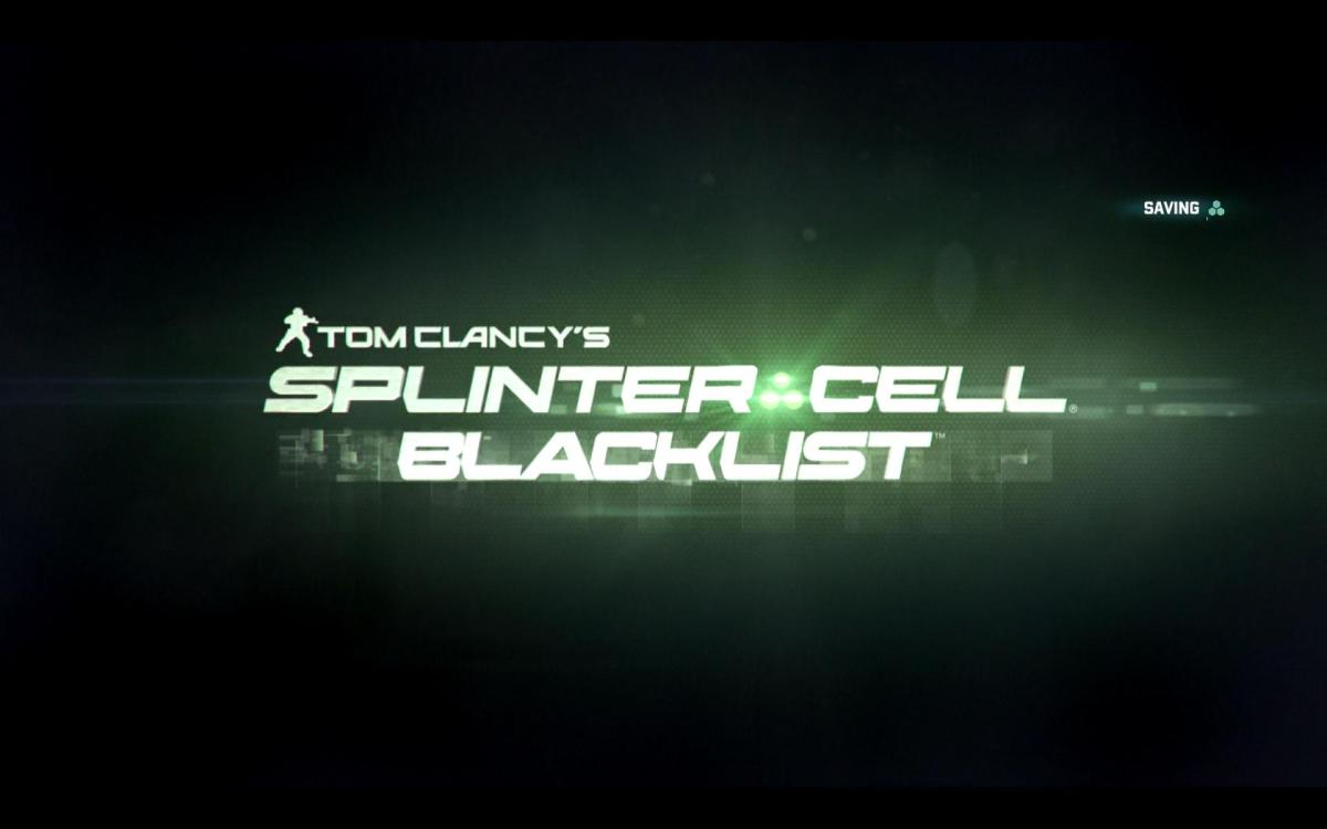 Tom Clancys Splinter Cell Blackist Review Screenshot Wallpaper Title Screen